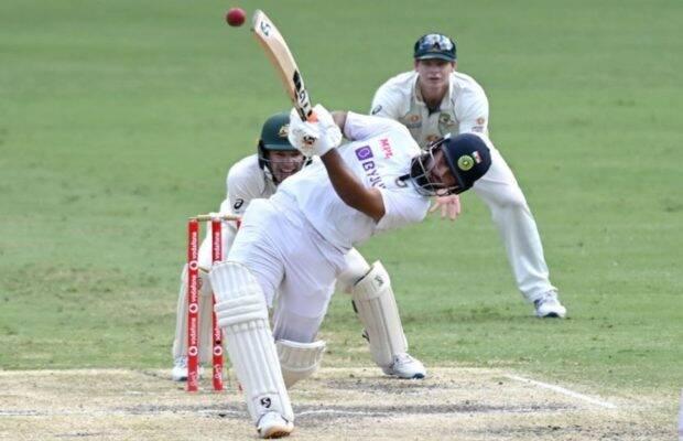 India Vs Australia 4th Test day 5 Live Cricket Score: ऋषभ पंत की शानदार खेल से भारत ने सीरीज पर 2-1 से किया कब्जा (सोर्स – एपी)