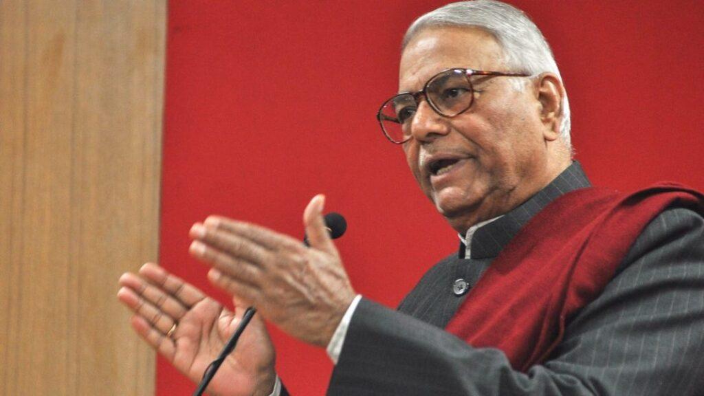 पूर्व वित्त मंत्री Yashwant Sinha ने TMC का थामा दामन, आज पार्टी में हुए शामिल