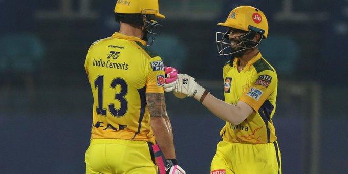 IPL 2021: चेन्नई सुपर किंग्स (CSK) ने सनराइजर्स हैदराबाद (SRH) को 7 विकेट से हराया