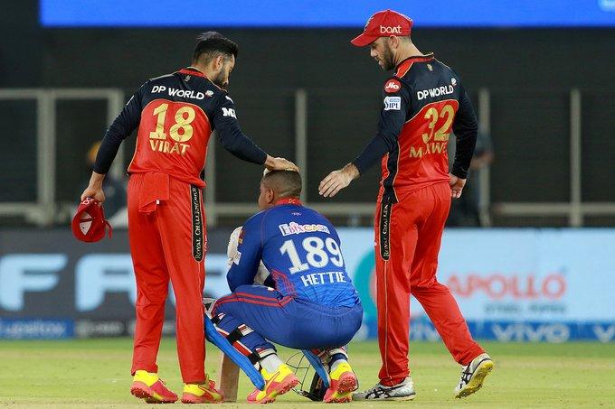 IPL 2021: 1 रन से रॉयल चैलेंजर्स बेंगलुरु ने दिल्ली कैपिटल्स को हराया