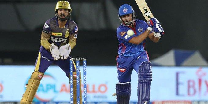 पृथ्वी शॉ के शानदार खेल से दिल्ली कैपिटल्स (DC) ने कोलकाता नाइट राइडर्स (KKR) को 7 विकेट से हराया