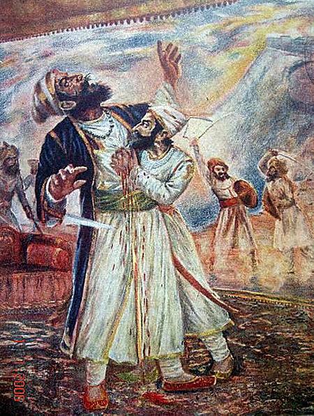 शिवाजी महाराज पुण्यतिथि ३ अप्रैल