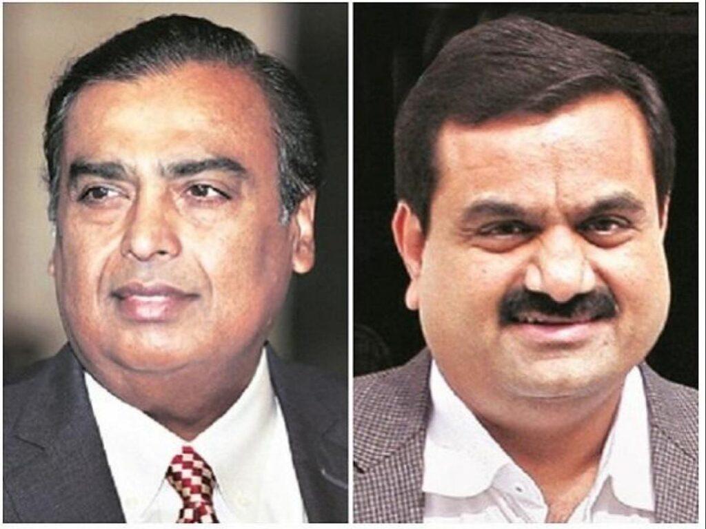 Mukesh Ambani n Gautam Adani : एशिया के दो सबसे अमीर व्यक्ति , अडानी ने चीन के सबसे अमीर से छीना दूसरा स्थान