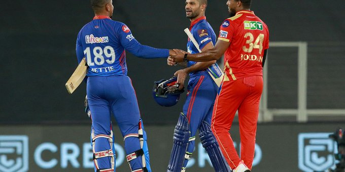 दिल्ली कैपिटल्स (DC) ने पंजाब किंग्स को 7 विकेट से हराया