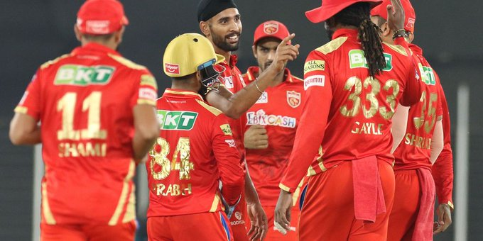 IPL 2021: पंजाब किंग्स ने रॉयल चैलेंजर्स बेंगलुरु को 34 रन से हराया