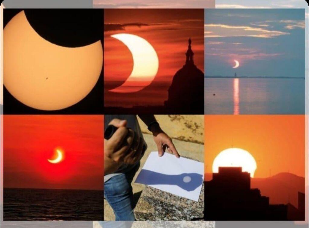 दुनिया के अलग-अलग हिस्सों मे दिखा 'रिंग ऑफ फायर'सूर्य ग्रहण; तस्वीरें आई सामने