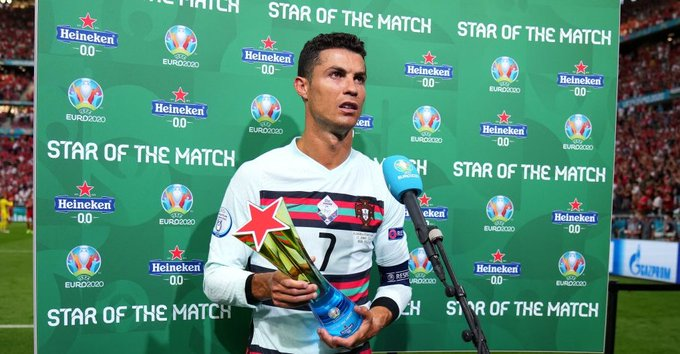 Cristiano Ronaldo becomes the all-time EURO top scorer Trend on Twitter